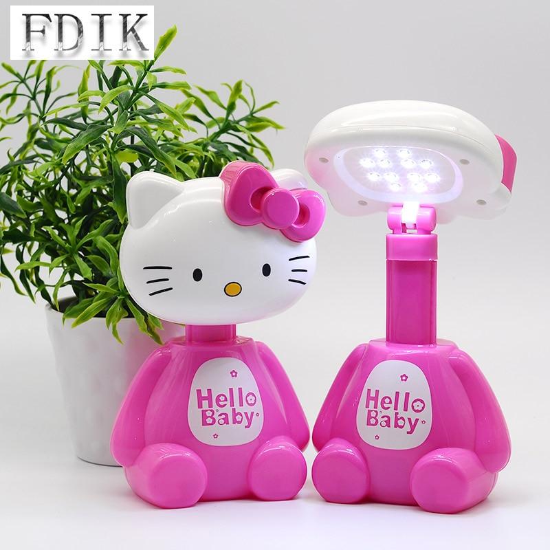 [해외]Dc5v usb led 테이블 램프 쓰레기 고양이 유형 led 책상 램프 3-5wtouch 독서 책 빛 에너지 절약 눈 보호 연구 램프/Dc5v usb led 테이블 램프 쓰레기 고양이 유형 led 책상 램프 3-5wtouch 독서 책 빛 에너
