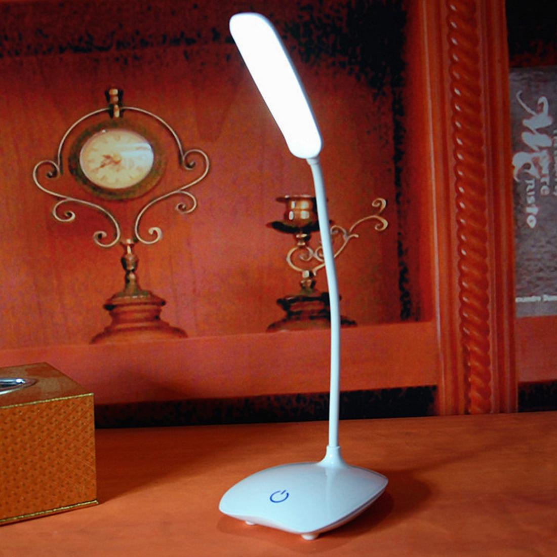[해외]Usb 충전식 led 책상 테이블 램프 조정 가능한 강도 독서 빛 터치 스위치 책상 램프 책상 램프/Usb 충전식 led 책상 테이블 램프 조정 가능한 강도 독서 빛 터치 스위치 책상 램프 책상 램프