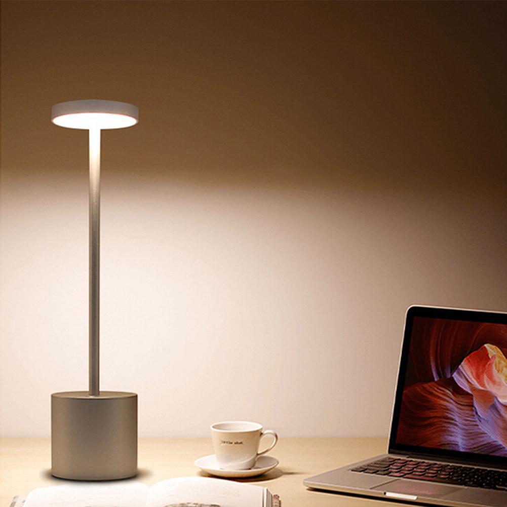 [해외]Led 터치 독서 책상 램프 usb 충전식 테이블 빛 세련 된 밤 빛 2 모드 dimmable 눈 보호 테이블 램프 선물/Led 터치 독서 책상 램프 usb 충전식 테이블 빛 세련 된 밤 빛 2 모드 dimmable 눈 보호 테이블 램프 선물
