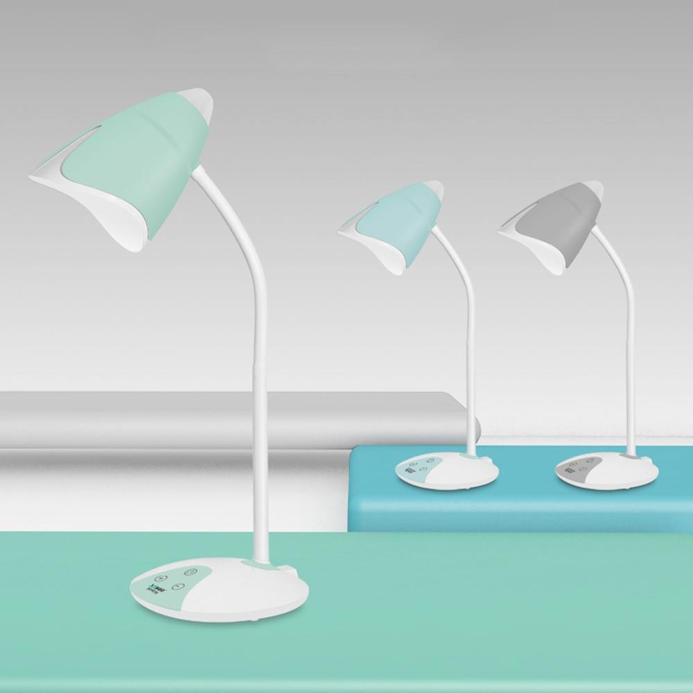 [해외]Led 터치 스위치 3 빛 색상 책상 램프 밤 빛 flexo 눈 보호 읽기 조 광 기 충전식 usb led 테이블 램프/Led 터치 스위치 3 빛 색상 책상 램프 밤 빛 flexo 눈 보호 읽기 조 광 기 충전식 usb led 테이블 램프