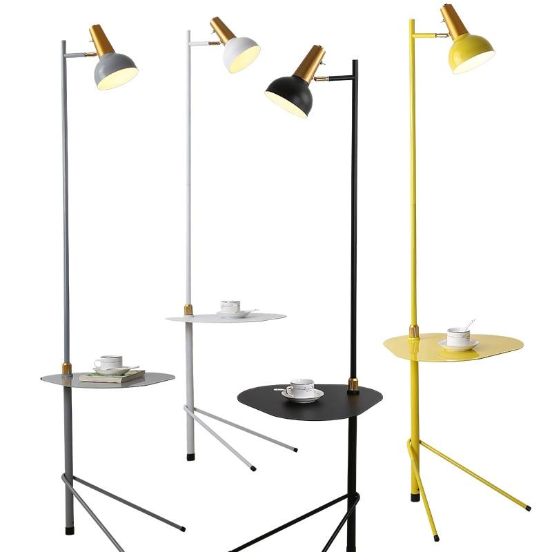 [해외]테이블과 플로어 램프 북유럽 플로어 램프 침실 luminaire 거실 연구 스탠드 램프 현대 실내 홈 장식 전등/테이블과 플로어 램프 북유럽 플로어 램프 침실 luminaire 거실 연구 스탠드 램프 현대 실내 홈 장식 전등