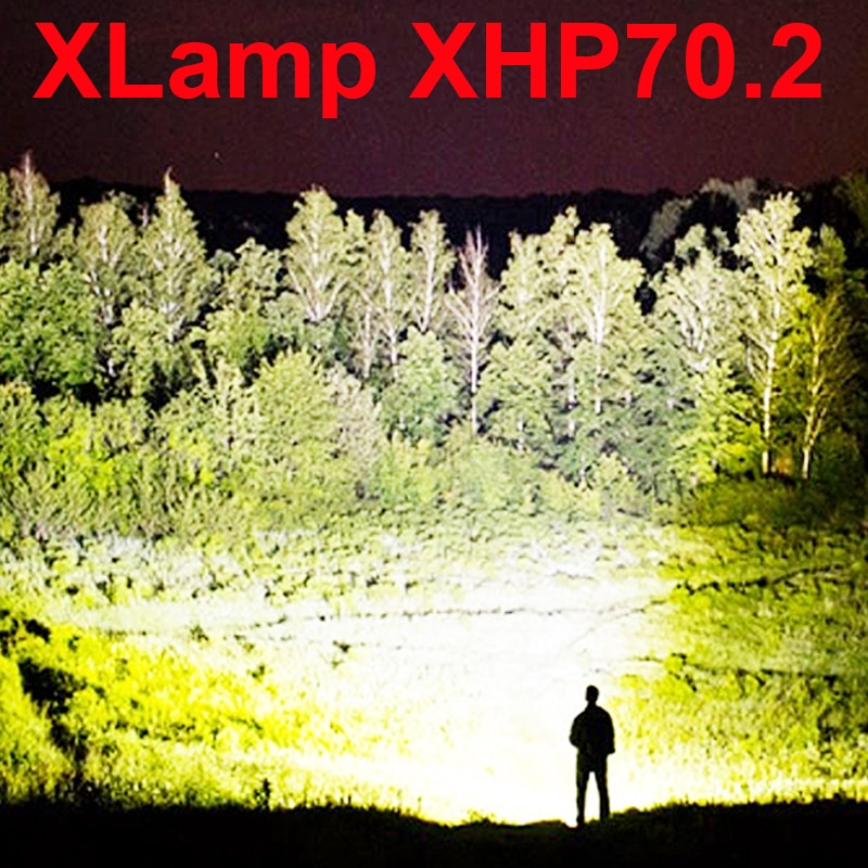 [해외]led flashlight high lumens xhp70.2 most powerful flashlight 26650 usb torch xhp70 xhp50 lantern 18650 hunting lamp hand light/led flashl