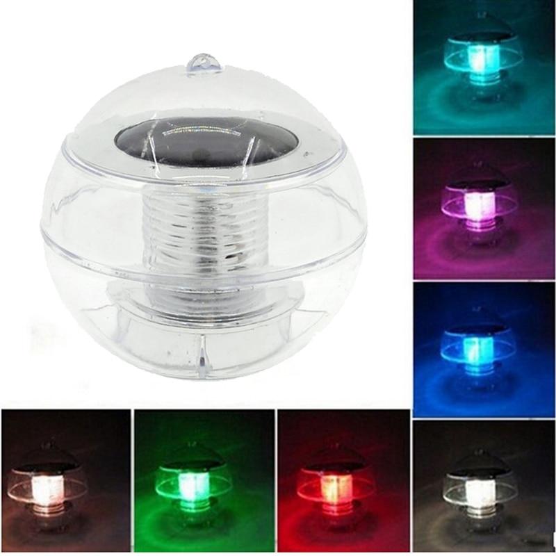 [해외]Solar Powered lamps Panel Self-Recharging Floating LED Ball for Garden Ponds Lawn lamps Landscape Yard LED night light/Solar Powered lam