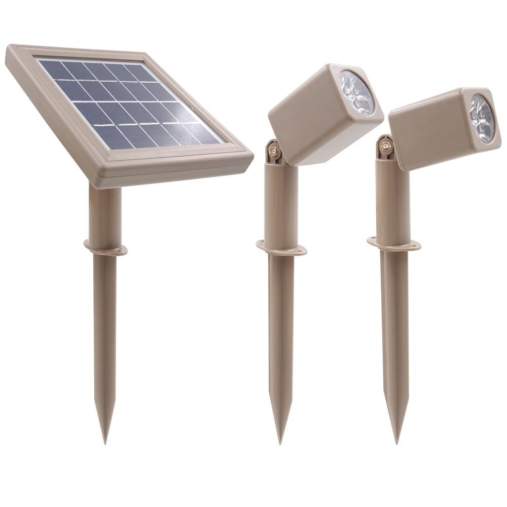[해외]16 진수 30x 트윈 새로운 태양 전원 led 스포트 라이트 야외 풍경 정원 장식 스포트 라이트 방수 5m 케이블 정원 램프/16 진수 30x 트윈 새로운 태양 전원 led 스포트 라이트 야외 풍경 정원 장식 스포트 라이트 방수 5m 케이블