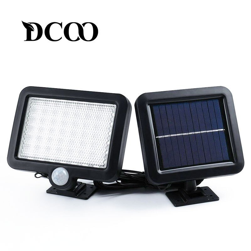 [해외]Dcoo 태양 램프 56 leds 야외 장식 정원 잔디 램프 조명 센서 조명 태양 모션 감지 벽 태양 램프/Dcoo 태양 램프 56 leds 야외 장식 정원 잔디 램프 조명 센서 조명 태양 모션 감지 벽 태양 램프