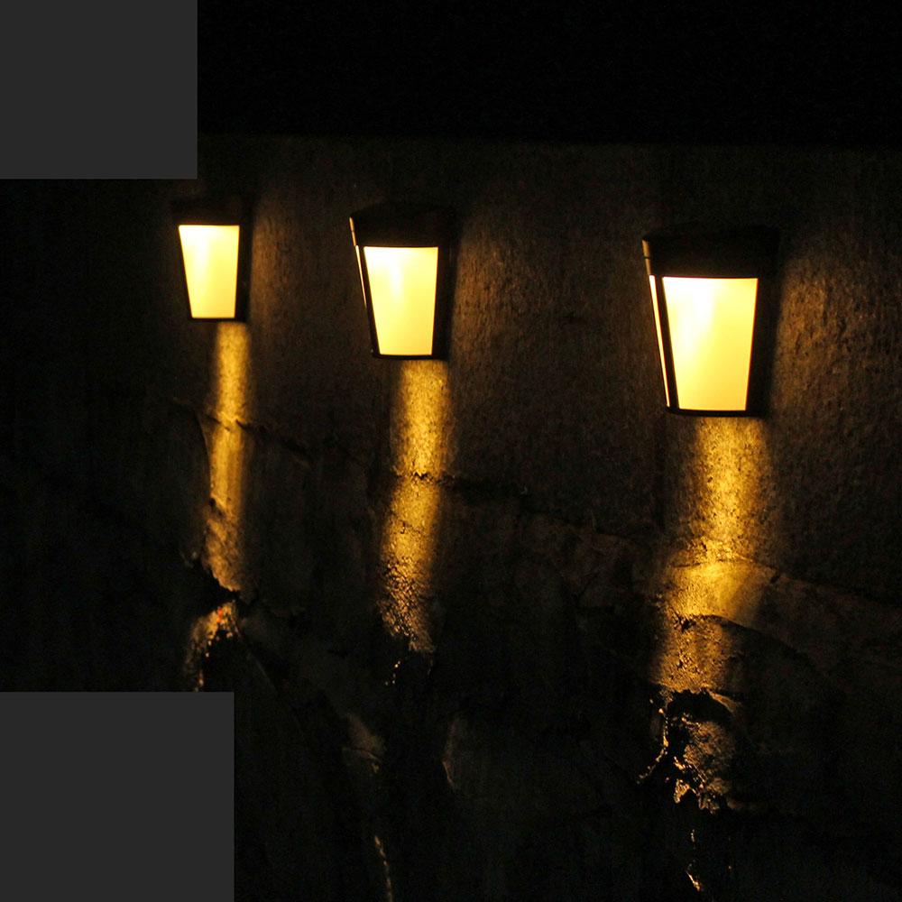 [해외]1pc 새로운 고품질 벽 램프 태양 빛 6 led 옥외 정원 벽 경로 야드 조경 점화 차가운 백색 온난 한 rgb 변화 가능/1pc 새로운 고품질 벽 램프 태양 빛 6 led 옥외 정원 벽 경로 야드 조경 점화 차가운 백색 온난 한 rgb 변화