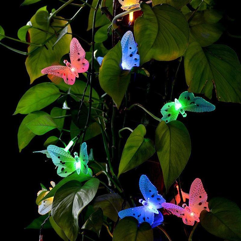 [해외]태양 전원 나비 조명 정원 야외 조명 정원 잔디에 대 한 방수 멀티 컬러 광섬유 장식 조명/태양 전원 나비 조명 정원 야외 조명 정원 잔디에 대 한 방수 멀티 컬러 광섬유 장식 조명