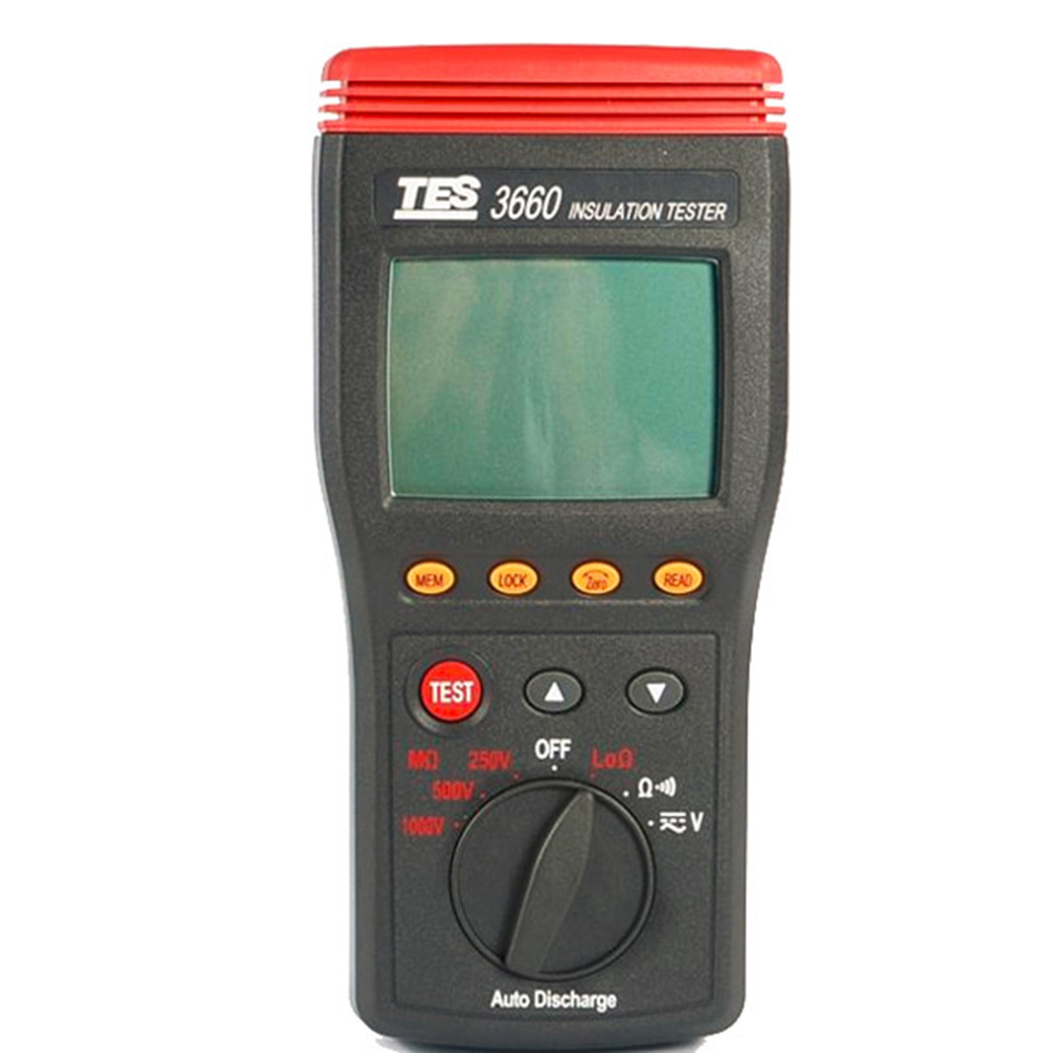 Kyoritsu 3132a Kew New Insulation Tester Digital 3021 Tes 3660