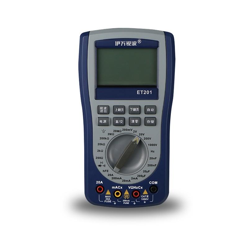 [해외]EONE ET201 오실로스코프 멀티 미터 2-IN-1 가장 지능형 휴대용 지능형 스코프 미터 스코프 메터 영어 매뉴얼/EONE ET201 Oscilloscope Multimeter 2-IN-1 Most Versatile Intelligent Handheld S