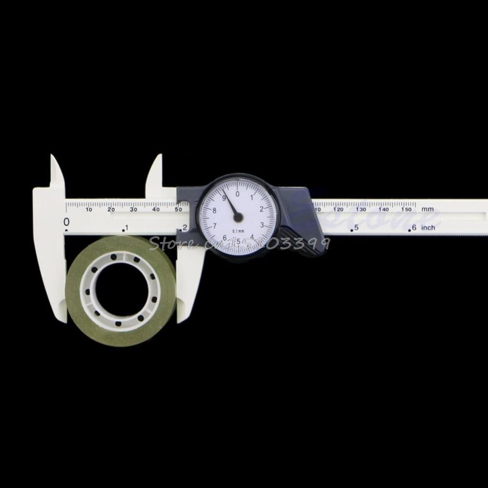 [해외]1Pc 150mm 6inch 플라스틱 다이얼 캘리퍼스 버니어 캘리퍼스 4Way 게이지 마이크로 미터 0.1mm/1Pc 150mm 6inch Plastic Dial Caliper Vernier Caliper 4Way Gauge Micrometer 0.1mm