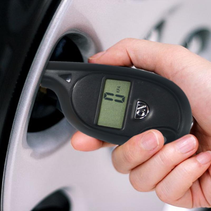 [해외]2-150 PSI 휴대용 타이어 압력 미니 키 체인 디지털 LCD 타이어 타이어 바퀴 공기 압력 게이지 테스터 행렬 도구 모니터/2-150 PSI Portable Tire Pressure Mini Keychain Digital LCD Tire Tyre Wheel