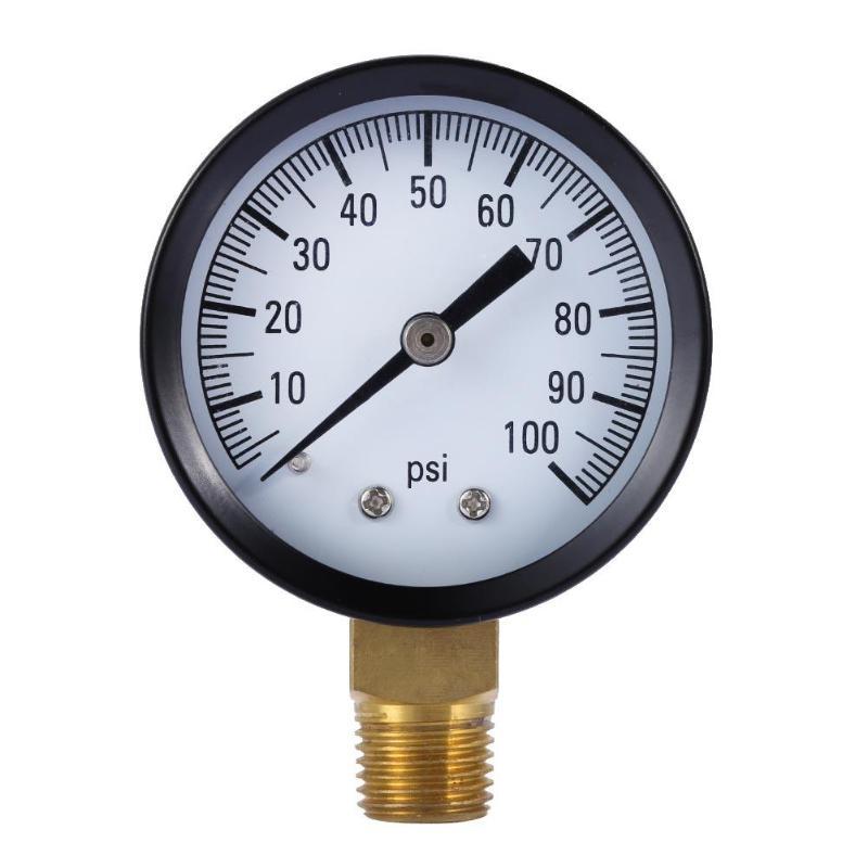 [해외]?Simmons 1305 100 PSI 1 / 4 & 우물 펌프 수압 게이지 TS-50-100PSI/ Simmons 1305 100 PSI 1/4& Well Pump Water Pressure Gauge TS-50-100PSI
