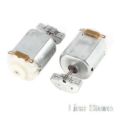 [해외]2 PC 130 전기 마사지 교환기 미니 진동 진동 모터 DC 3V 5000RPM/2 Pcs 130 Electric Massager Replacement Mini Vibration Vibrating Motor DC 3V 5000RPM