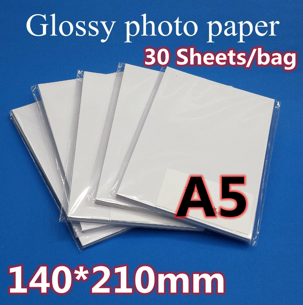 [해외]A5 사진 용지 140 * 210MM 30sheets / 가방/A5 photo paper 140*210MM 30sheets/bag