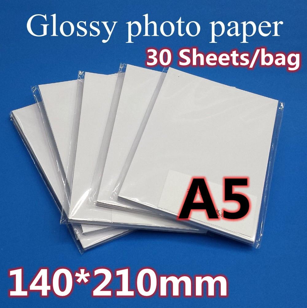 [해외]A5 사진 용지 140 * 210MM 30sheets / 가방/A5 photo paper 140*210MM 30sheets/bag