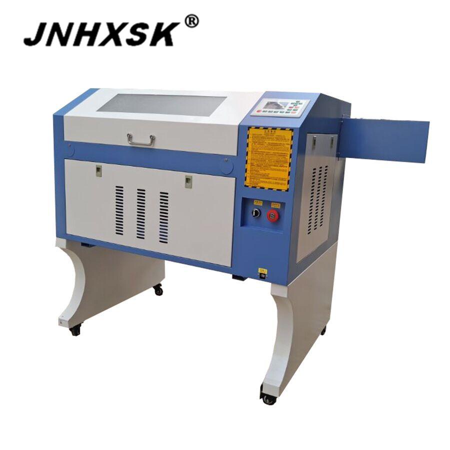 [해외]JNHXSK TS4060 400X600mm 80 / 100W 레이저 조각 및 절단기 아크릴 가죽 RUIDA M2 시스템 CO2 USB 2.0 인터페이스/JNHXSK TS4060 400X600mm 80/100W laser engraving and cutting m