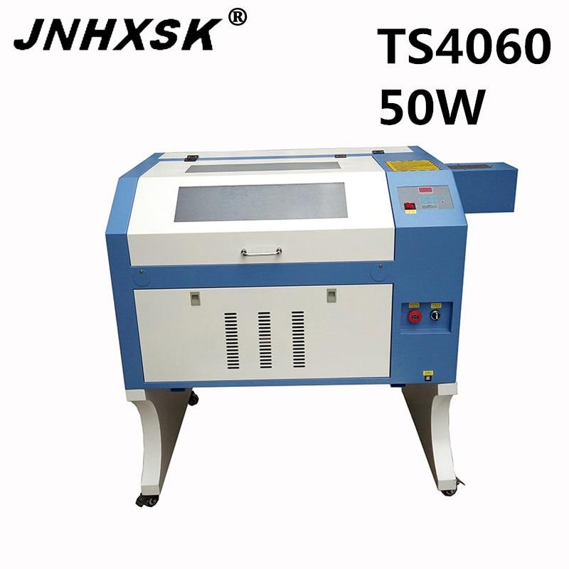 [해외]JNHXSK 레이저 TS4060 아크릴 유리 고품질 물 냉각을50w 탁상용 조각기 조각기 기계 밀봉 된 이산화탄소 유리 관/JNHXSK Laser TS4060 50w desktop laser engraver cutter machine for Acrylic gla