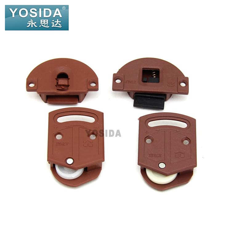 [해외]도어 휠 슬라이딩 바퀴 플라스틱 라운드 풀리 휠 캐비닛 옷장 캐비닛 풀리/Door wheel sliding wheel plastic pulley a round pulley wheel cabinet wardrobe cabinet