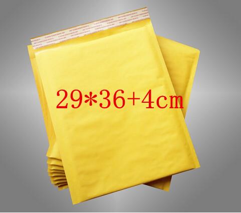 [해외]20PCS / LOT의 290x400mm 제조 업체 크래프트 가방 거품 우편물 패딩 봉투 종이 우편물 메일 링 가방 (29) * 36 + 4cm/20pcs/LOT 290x400mm Manufacturer Kraft bags bubble mailers padded