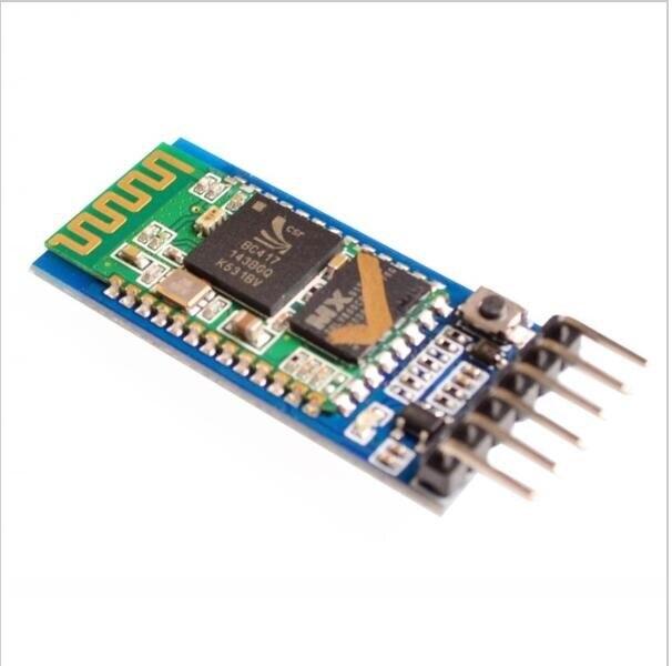 [해외] JY-MCU anti-reverse Bluetooth serial pass-through module, wireless serial, HC-05, master-slave 6pin for arduino/ JY-MCU anti-reverse Bluetooth se