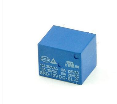 [해외] 5pcs/lot SRD-12VDC-SL-C T73-12V 5 pin PCB Type 12V DC Power Relay/ 5pcs/lot SRD-12VDC-SL-C T73-12V 5 pin PCB Type 12V DC Power Relay