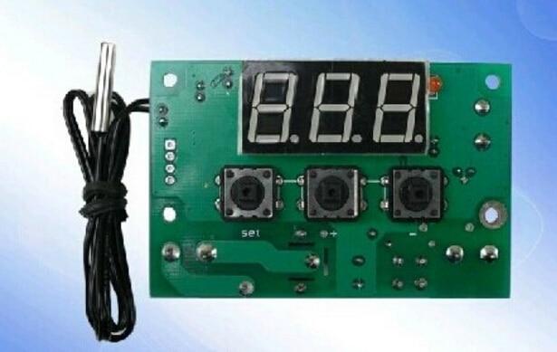 [해외] 1pcs W1301 panel mounting precision digital thermostat temperature controller -50  110 degree Accuracy 0.1/ 1pcs W1301 panel mounting precision d