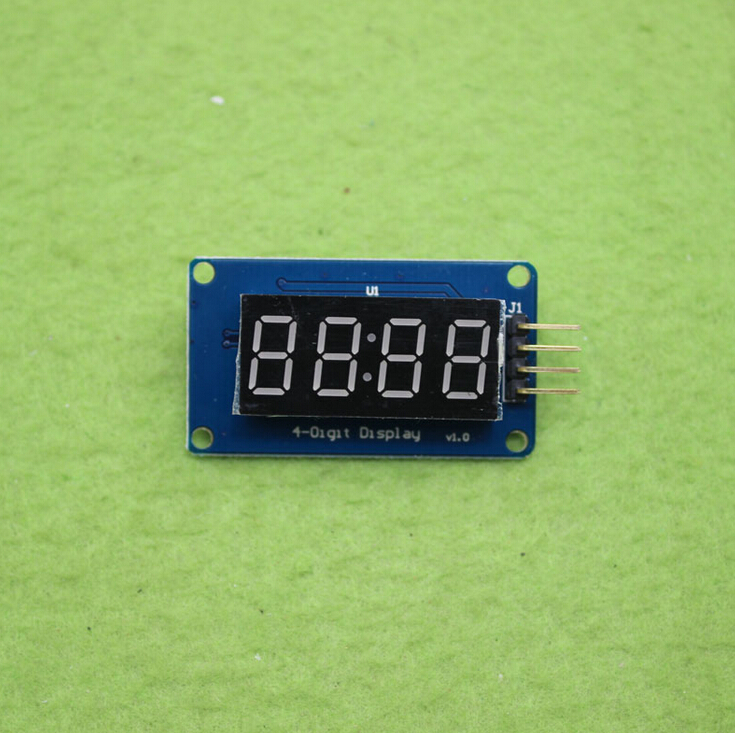 [해외]5pcs/lot 4 Bits Digital Tube LED Display ModuleClock Display for Arduino/5pcs/lot 4 Bits Digital Tube LED Display ModuleClock Display for Arduino
