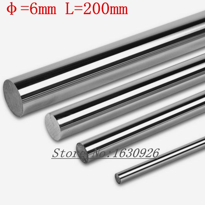 [해외]2 개 6mm 6x200 선형 축 3 차원 프린터 6mm는 X 200mm 실린더 라이너 레일 선형 샤프트 축 CNC 부품/2pcs 6mm 6x200 linear shaft 3d printer 6mm x 200mm Cylinder Liner Rail Linear