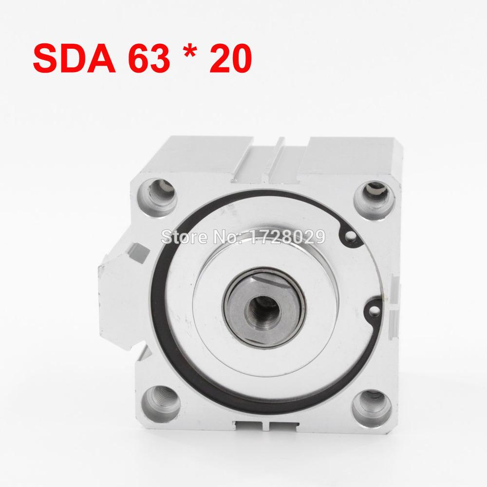 [해외]듀얼 모드 공압 실린더 SDA 63-20/Dual Mode Pneumatic Cylinder SDA 63-20