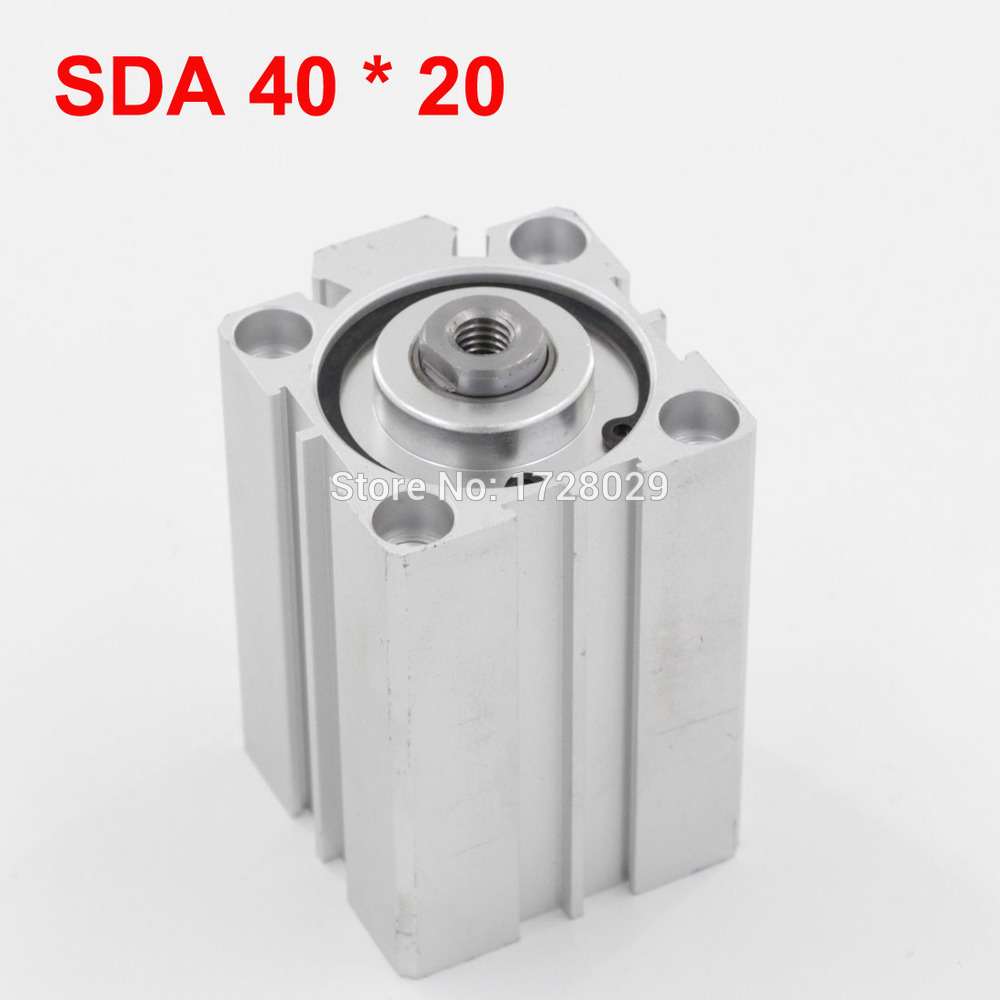 [해외]컴팩트 얇은 공압 실린더 SDA 40 * 20/Compact Thin Pneumatic Cylinder SDA 40*20