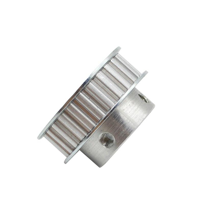 [해외]?XL25 2 개 타이밍 풀리 25 개 Alumium 보어 6 8 10 12 14 15 XL 벨트 용 16 mm 너비 11mm 동기화 휠/ XL25 2Pcs Timing Pulley 25 teeth Alumium Bore 6 8 10 12 14 15 16 mm