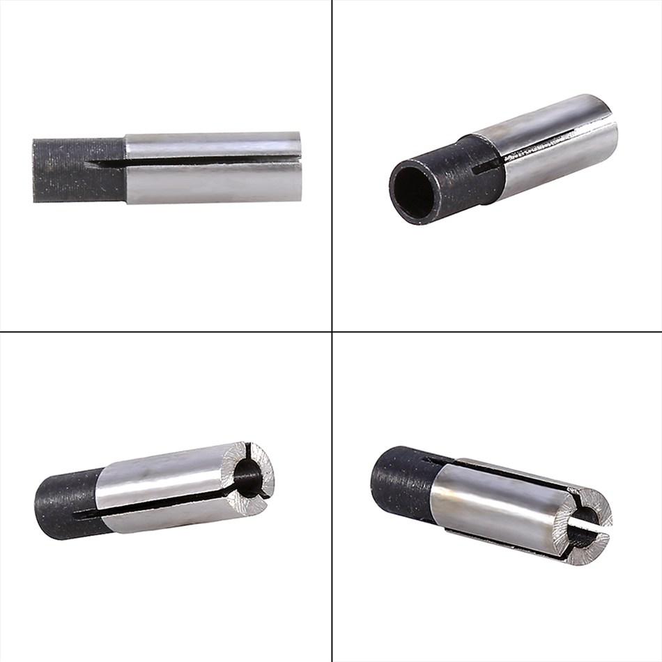 [해외]도매 4pcs / Lot 6mm 3.175mm 1 / 8 & & 멀티 크기 조각 칼레에 대 한 CNC 라우터 도구 어댑터/Wholesale 4Pcs/Lot 6mm to 3.175mm 1/8&& Multi-size Engraving Bit CNC R