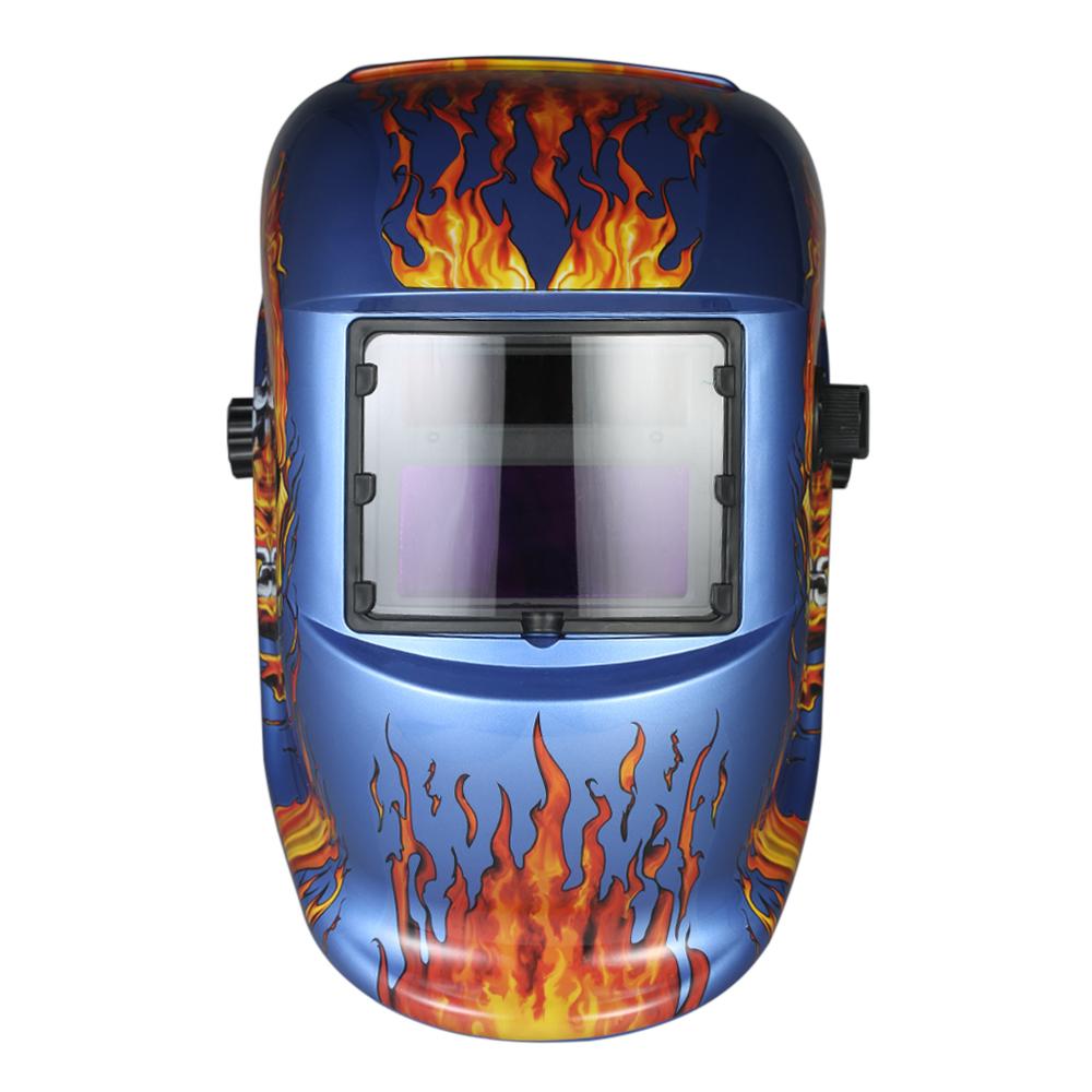 [해외]산업용 용접 헬멧 솔라 파워 자동 어두워지는 용접 마스크 TIG MIG 납땜 마스크 스컬 연삭 디자인/Industrial Welding Helmet Solar Power Auto Darkening Welding mask TIG MIG soldering Mask