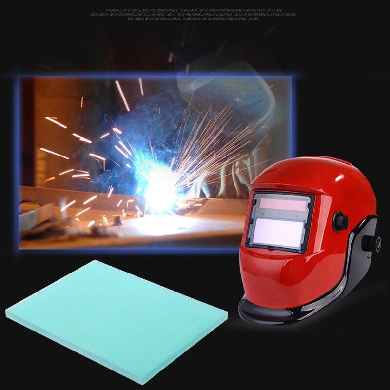 [해외]새로운 5 개 117x90mm 보호 플라스틱 플레이트 자동 조광 솔더 마스크 솔더 필터 솔더링 헬멧/New 5 Pcs 117x90mm Protective Plastic Plate Auto Dimming Solder Mask Solder Filter Solderi
