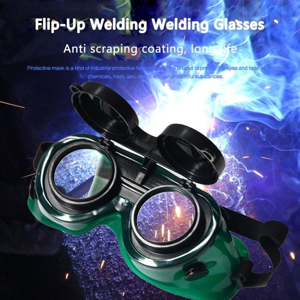 [해외]플립 - 업 2 층 용접 안전 안경 용접 솔더링 절삭 작업용 안구 보호기 안전 고글 눈 보호/Flip-Up Two Layer Welding Safety Glasses Eye Protector For Welding Soldering Cutting Work Safe