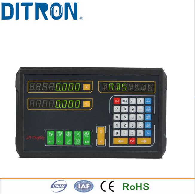 [해외]Ditron D100-2V (DRO) 2 축 기계 용 디지털 판독 값/Ditron D100-2V (DRO) Digital Readout for  2 axis Machines