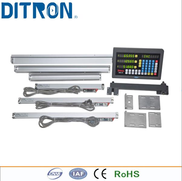 [해외](포장재) Ditron 선형 유리 스케일 DC10 (50-500mm) + D60 3 축 기계 용 3 축 디지털 판독 장치/(Packing s) Ditron  Linear glass Scales DC10 (50-500mm)+D60 3 axis Digital Rea