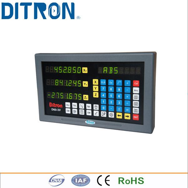 [해외]?밀링 머신 용 D60-3 축 디지털 판독 장치/ D60-3axis Digital Readout for Milling Machines