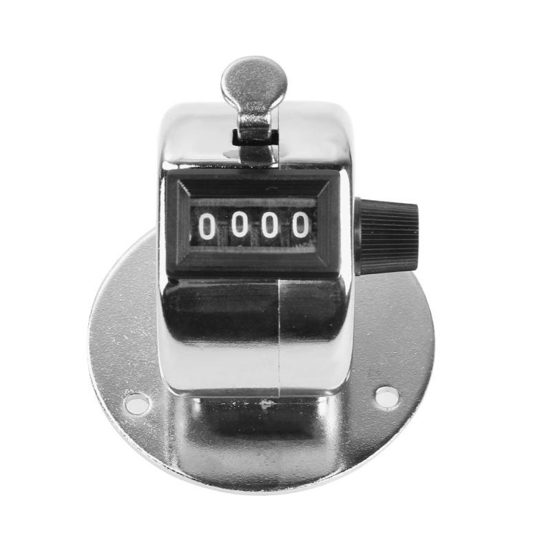[해외]새로운 미니 기계식 디지털 핸드 집계 카운터 4 자리 숫자 핸드 집계 계산 카운터 수동 카운팅 골프 리모콘 0-9999/New Mini Mechanical Digital Hand Tally Counter 4 Digit Number Hand Held Tally C