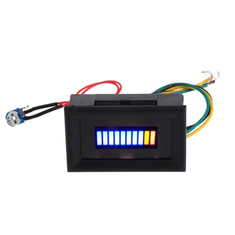 [해외]12V 유니버설 오토바이 자동차 오일 스케일 미터 LED 오일 연료 게이지 표시기/12V Universal Motorcycle Car Oil scale meter LED Oil Fuel level Gauge Indicator