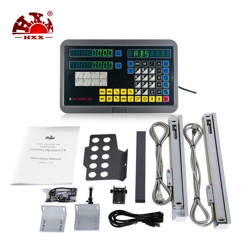 [해외] 우수한 품질의 2 축 DRO 키트 GCS900-2D 기계 용/Free shipping excellent quality 2 axis DRO kit GCS900-2D for machine