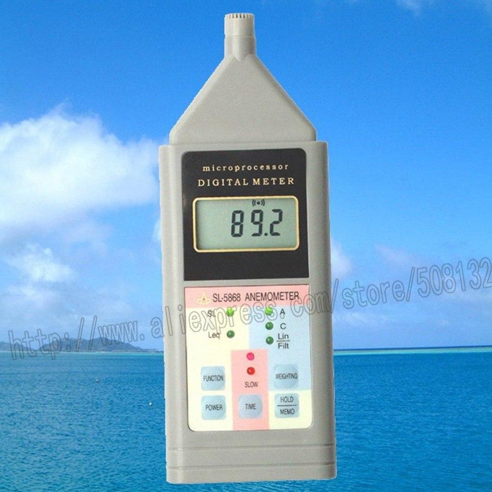 [해외]Landtek SL - 5868 사운드 레벨 측정기 디지털 LCD 소음 측정기 데시벨 모니터 테스터 SL5868/Landtek SL-5868 Sound Level Meter Digital LCD Noise Meter Decibel Monitor Tester SL