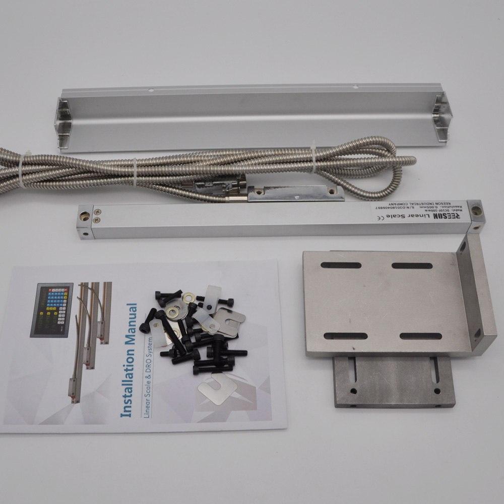 [해외]Ip55 Nine-pin TTL 출력 신호 길이 측정을유리 스케일/Ip55 Nine -pin TTL Output Signal linear Glass scale for measuring length
