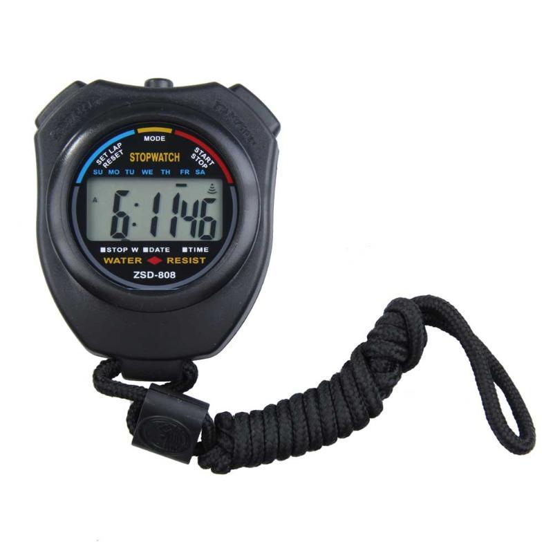 [해외]핫 핸드 헬드 스포츠 스톱워치 타이머 전문 디지털 스포츠 타이머 크로노 그래프 스포츠 스톱워치 CounterStrap/Hot Handheld Sports Stopwatch Timer Professional Digital Sports Timer Chronograp