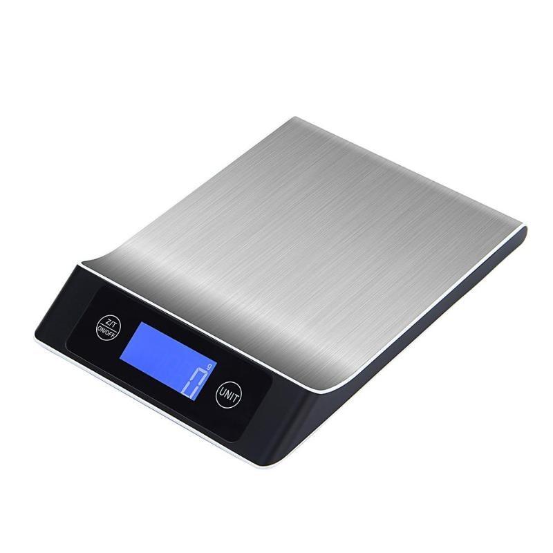 [해외]5kg / 1g 디지털 방식으로 요리 측정 공구 스테인리스 전자 가늠자/5kg/1g Digital Scale Cooking Measure Tool Stainless Steel Electronic Scale