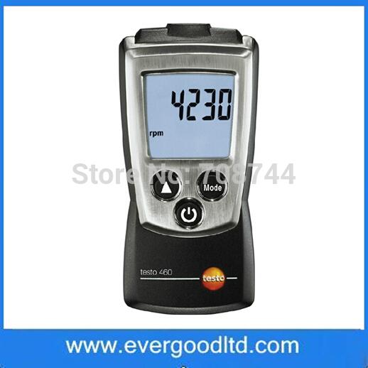[해외]속도 측정 기기 테스터 디지털 RPM 타코미터 테스토 460 비광학 타코미터 회전/Rotate Speed Measuring Instrument Tester Digital RPM Tachometer Testo 460 Non-contact Optical Tachom