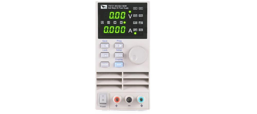 [해외]?ITECH IT6721 자동 범위 DC 전원 공급 장치 60V / 8A / 180W 프로그램/ ITECH IT6721 Auto Range DC Power Supply 60V/8A/180W Programmable