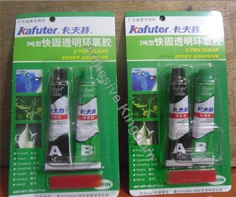 [해외]유리 금속 접착제 10PCS 20g Kafuter AB 투명 접착제 고강도 모델 에폭시 접착제 3 톤/10Pcs 20g Kafuter AB transparent glue high strength model epoxy adhesive 3-Ton for glass