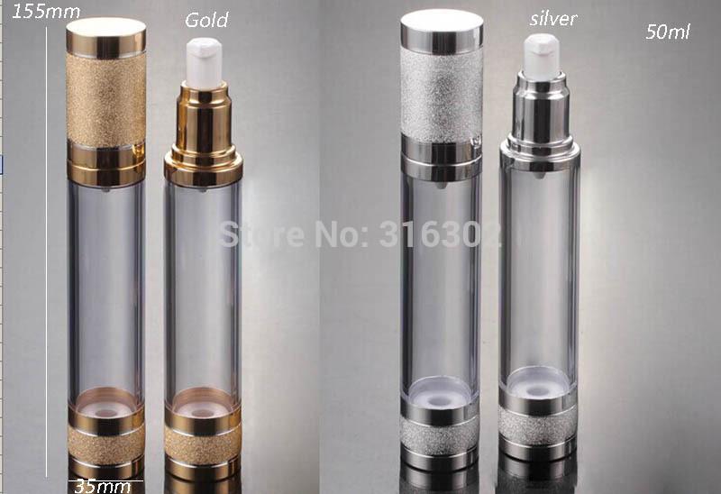 [해외]10 × 50ML 지우기 에어리스 크림 로션 펌프 병 진공 화장품 포장/10 x 50ML Clear Airless Cream Lotion Pump Bottle Vacuum Cosmetic Packaging