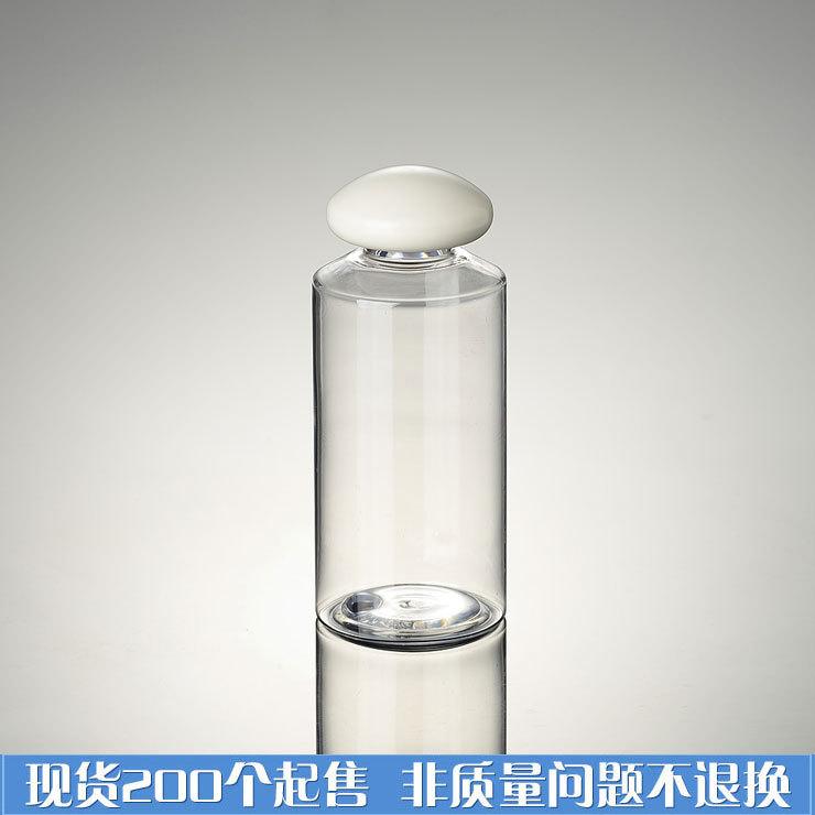 [해외]용량 150ML30pcs / 많은 PET 병 경사 흰색 버섯 모자, 화장품 샘플 용기/Capacity 150ML30pcs/lot  PET bottle oblique white mushroom caps, cosmetic sample containers